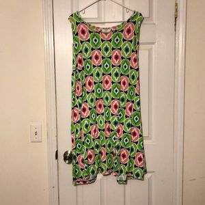 Cute and comfortable size 3x crown & ivy dress.
